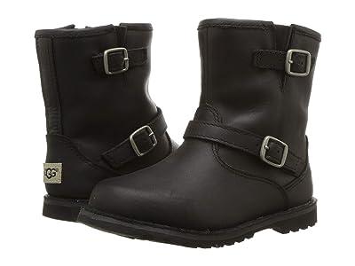 UGG Kids Harwell (Toddler/Little Kid) (Black) Kids Shoes