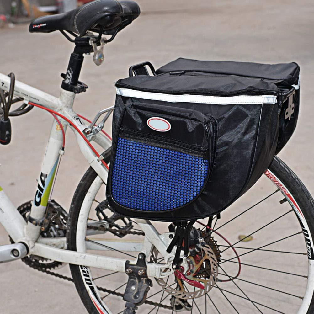 szdc88 Bicicleta Asiento Trasero Bolsa, Impermeable Montaña ...