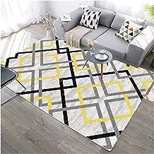 Modern Large Area Rugs Runner Carpet for Living Room Bedroom Kitchen Hallway Non-Slip Short Plush Floor Mat (Color : E, Si...