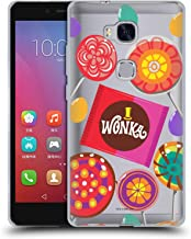 Official Willy Wonka and The Chocolate Factory Candies Graphics Soft Gel Case Compatible for Huawei Honor 5X / GR5
