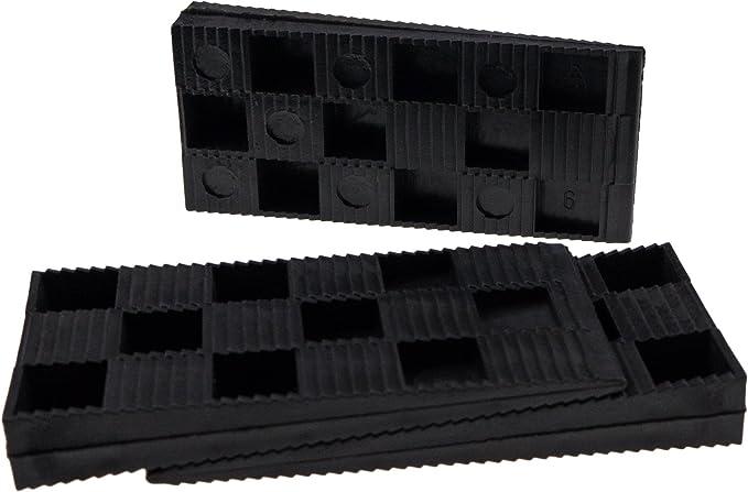 Kunststoffkeile 80 x 30 x 10 mm 30 Stück Keile Laminat verlegen