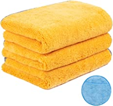 Handy Picks Microfiber Cleaning Cloth for Cars, Car Detailing Cloth n Microfiber Wax Applicator Combo for Car Washing, Dry...