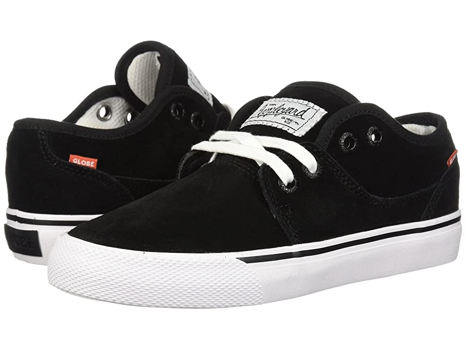 Globe Mahalo (Little Kids/Big Kids) (Black/White) Men