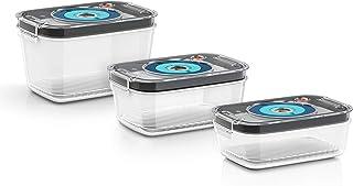 Bosch Hausgeräte MSZV0FC3 Accessoires pour boîtes de Conservation sous Vide en 3 Tailles différentes