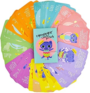 Sunny Present Empowerment Cards for Kids – 44 Action Packed and Fun Exercises for Children