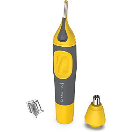 Remington Remington Virtually Indestructible Nose, Ear & Brow Trimmer, Yellow, NE3871