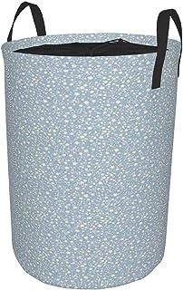 ZOMOY Grand Organiser Paniers pour Vêtements Stockage,Motif étoile sur Fond de Silhouettes Illustration de Doodle de pépin...