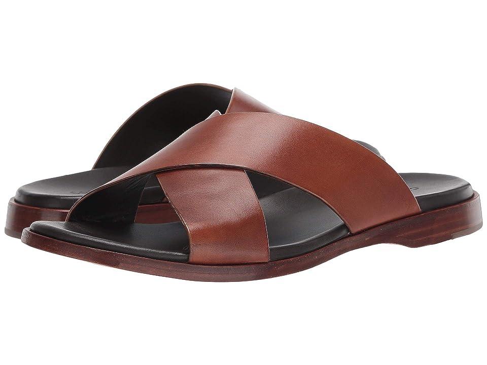 Cole Haan Goldwyn Crisscross Sandal (British Tan Smooth) Men