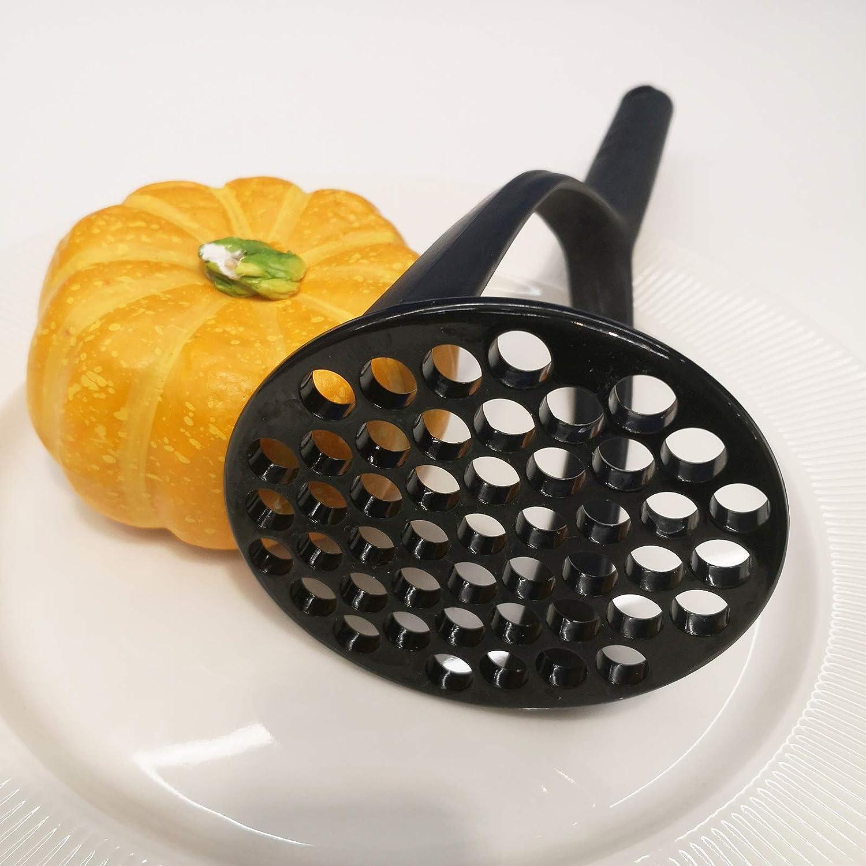 Blue FLYINGSEA Potato Masher,Nylon Potato Masher,Safe For Non-Stick Cookware Cooking and Kitchen Gadget.