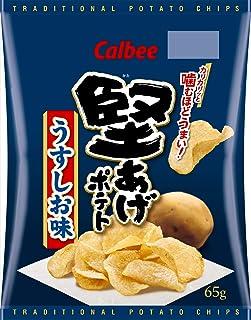 Calbee Kurbee 硬薯片 淡盐味 65g×12 袋