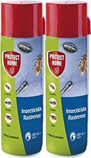 Protect Home Insecticida Blattanex, acción inmediata contra cucarachas, Hormigas e Insectos Rastreros, 500ml (Pack de 2), Azul