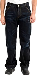 Gianfranco Ferre GF Men's Dark Blue Straight Leg Jeans US 38 IT 52