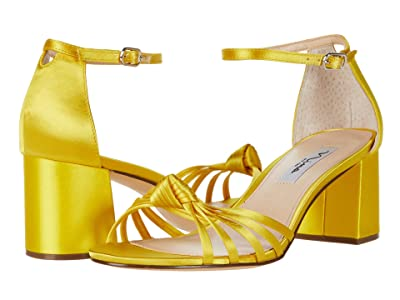 Nina Nidiah (Citron Crystal Satin) Women