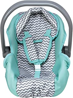 Adora Zig Zag Baby Doll Car Seat - Perfect Baby Doll Carrier & Accessory For Kids 2+