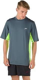 Speedo Men's UV Swim Shirt Short Sleeve Longview Tee