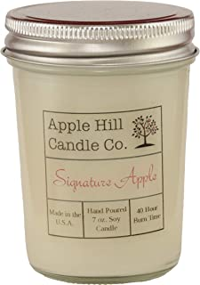 Handmade Natural Soy Candle - Signature Apple (7 oz.) | Perfect for Fall!