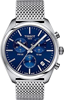 Men's PR 100 Chronograph - T1014171104100 Blue/Silver One Size