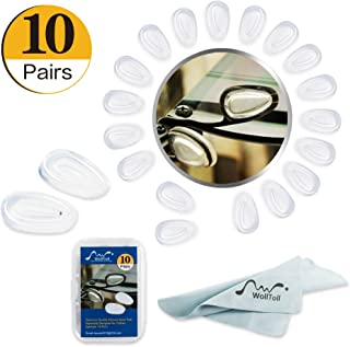 10 Pairs/Set R.G Accessories Premium Quality Silicone Nose Pads Especially Designed for Oakley Eyewear