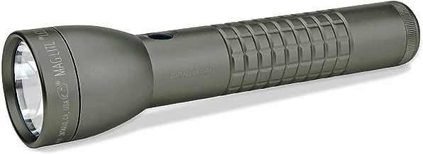 Maglite ML300LX LED 2-Cell D Flashlight, Foliage Green