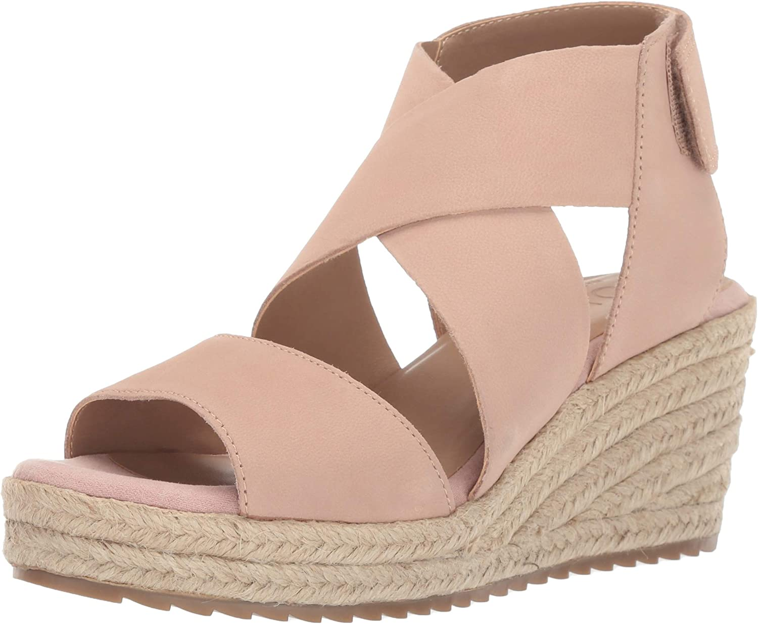 Natural Soul Womens Oshay Wedge Sandal
