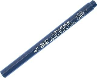 Uchida 522-C-33 Marvy Fine Point Fabric Marker, Navy