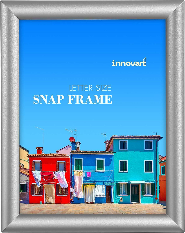 """INNOVART Nippon regular agency Ranking TOP7 Aluminum Snap Frame for Poster x 11"""" Fr 8.5"""""""