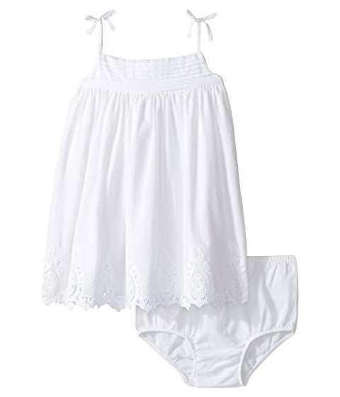 5e17d109473 Ralph Lauren Baby Batiste Lace Tiered Dress (Infant) at 6pm