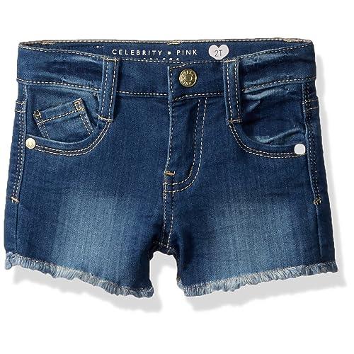 Scfcloth Toddler Girls Off Shoulder Lotus Leaf Tops Holes Jeans Shorts Headband Summer Kids Outfit Sets