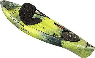 Ocean Kayak Tetra 10 One-Person Sit-On-Top Recreational Kayak, Lemongrass Camo, 10 Feet 8 Inches