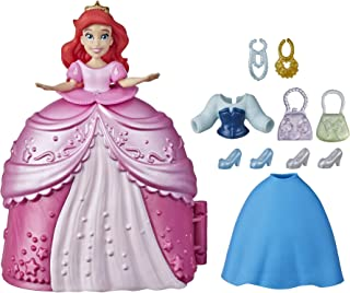 Disney Princess Secret Styles Fashion Surprise Ariel, Mini Doll Playset with Extra Clothes and Accessories, Toy for Girls ...