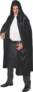 Rubie's Costume Full Length Crushed Velvet Hooded Cape