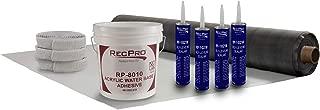 EPDM RV Rubber Roof Kit | 8.5' Wide | Camper Rubber Roof Kit | Trailer Roof | Motor Home Roof | Camper Roof | RV (Camper) Roof Repair | Trailer Roof Repair (20ft)