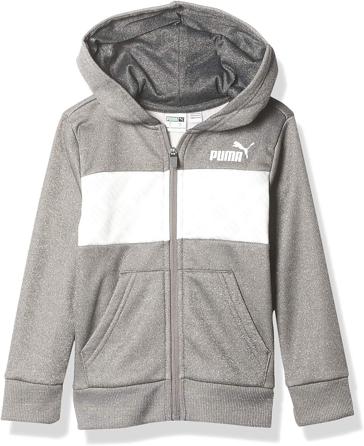 PUMA Boys' Zip Dallas Popular product Mall Hoodie Up