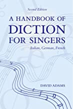 Best diction for singers book Reviews