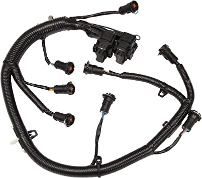 amazon.com: ficm engine fuel injector complete wiring harness   for ford 6.0l  powerstroke diesel   2003-2007 f250 f350 f450 f550, 2004-2005 excursion    replace# 5c3z-9d930-a, 5c3z9d930a : automotive  amazon.com
