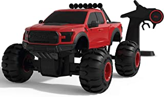 Sharper Image Monster Garage Ford F-150 Remote Control Tire Swap 2-in-1 Custom Building Set, Model Truck Building RC, Wireless 2.4 GHz All-Terrain Off-Road