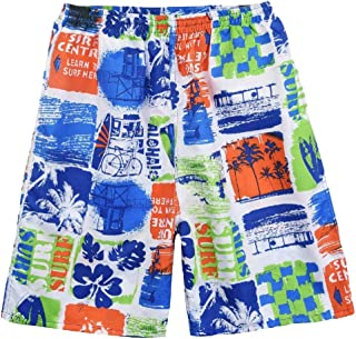 Mogogo Men's Half Pants Oceanside LBeach Quick Drying Casual Printing Shorts