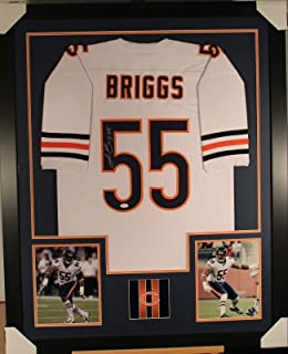 Lance Briggs Signed Jersey - Framed w COA 2 - JSA Certified - Autographed NFL Jerseys