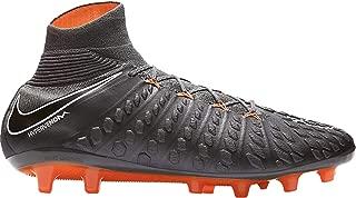 Nike Hypervenom Phantom III Elite DF AG-PRO (Dark Grey/Total Orange/White) Men's Soccer Cleats 7.5 US