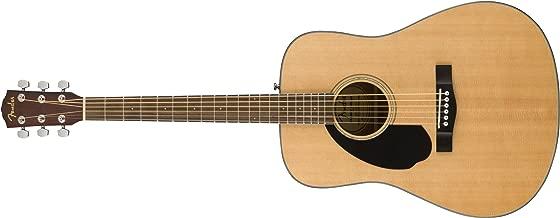 Fender CD-60S Left Handed Acoustic Guitar - Dreadnought Body - Natural
