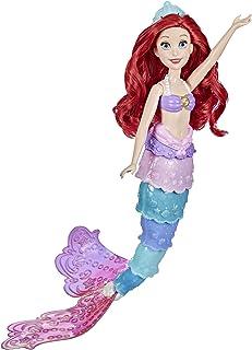 Disney Princesses - Poupee Mannequin Ariel sirène Arc-en-Ciel - 30 cm