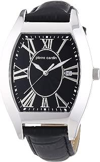 Pierre Cardin Men's Quartz Watch PC104531F02 PC104531F02 with Leather Strap