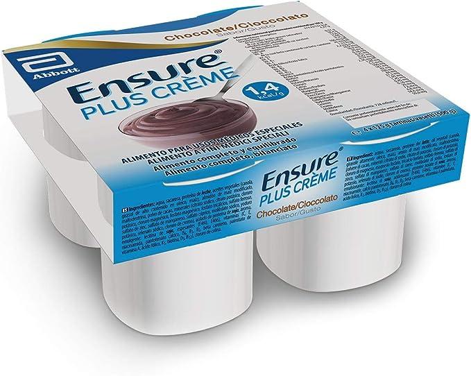 Ensure Plus Crème – Textura pudding, sabor a vainilla - Pack 4 x 125g