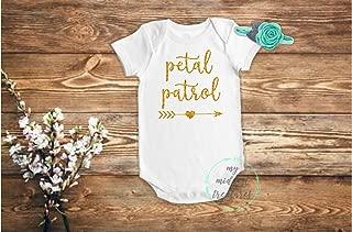 Flower Girl Bodysuit | Baby Girl Outfit | Petal Patrol Shirt | Flower Girl Proposal Gift