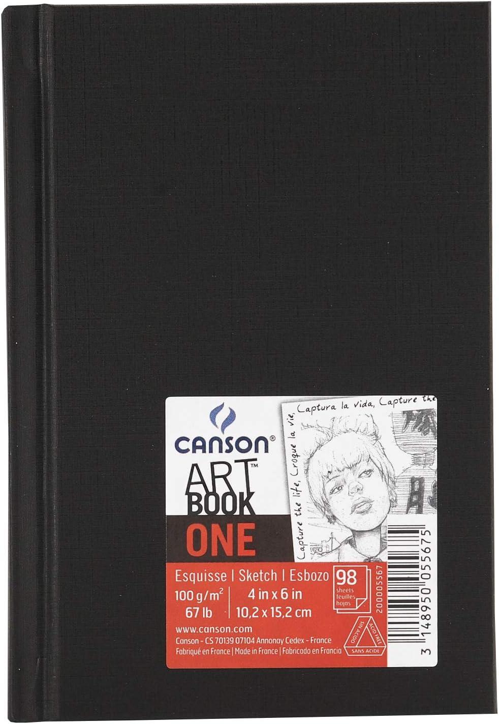 Canson Sketch One Fino 100g Cuaderno 10,1x15,2 98H