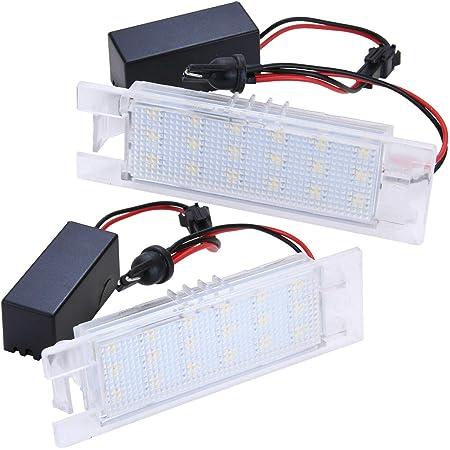 Premium Led Kennzeichenbeleuchtung Nummernschildbeleuchtung 902 2 Auto