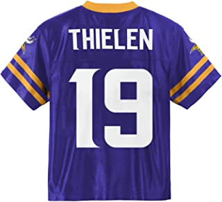 Adam Thielen Minnesota Vikings #19 Purple Youth Home Player Jersey