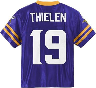 Adam Thielen Minnesota Vikings #19 Purple Youth Home Player Jersey