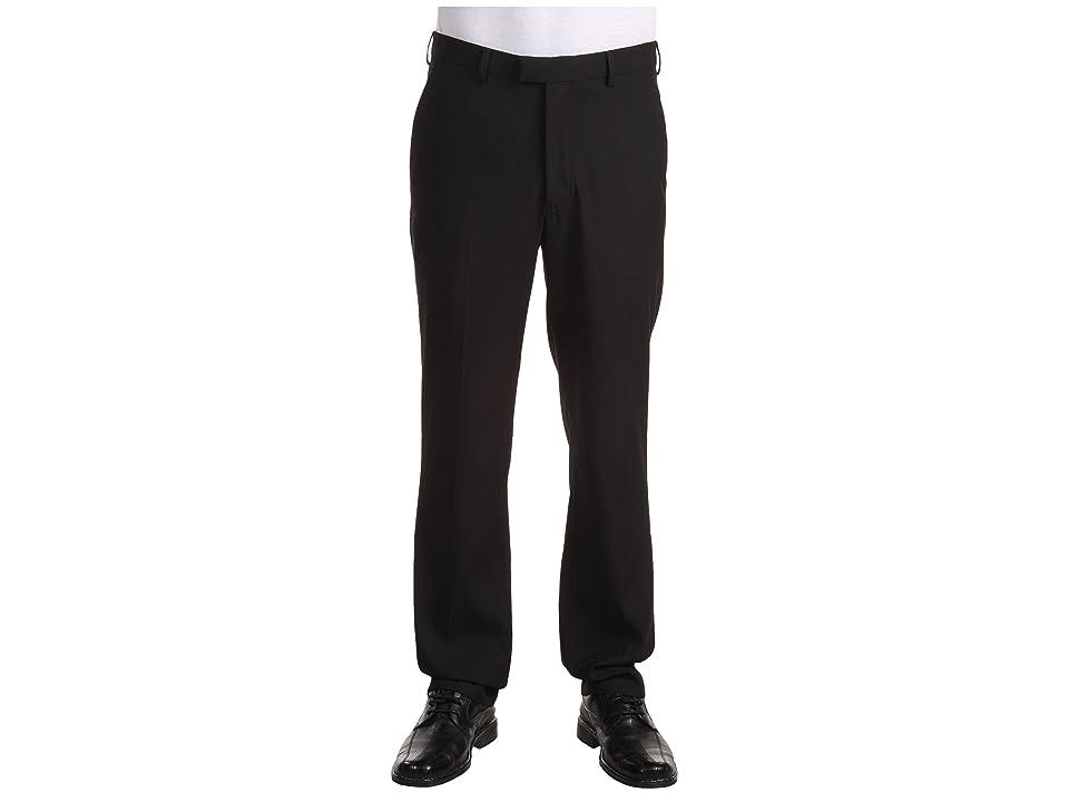 Perry Ellis Portfolio - Perry Ellis Portfolio Modern Fit Flat Front Bengaline Pant