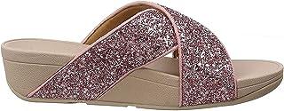 FITFLOP Lulu Glitter Slides, Women's Fashion Sandals